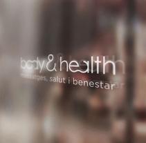 Body & Health imagen corporativa. A Design, Br, ing, Identit, Graphic Design, and Social Media project by Disparo Estudio         - 24.04.2016