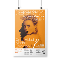 Identidad visual del evento Deepen Show. A Design, Br, ing, Identit, and Graphic Design project by disparoestudio - Apr 25 2016 12:00 AM