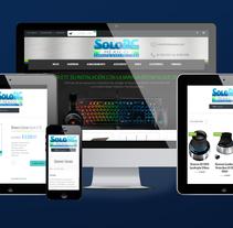 Sitio Web SOLO PC México. A Web Development project by As Diseño Diseño Web Monterrey         - 01.05.2016