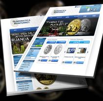 Sitio Web Numismática Monterrey. A Web Development project by As Diseño Diseño Web Monterrey         - 02.05.2016