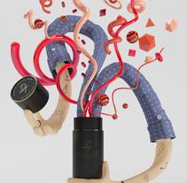 DT Poster. Un proyecto de Diseño, Ilustración, 3D y Dirección de arte de Guille Llano - 03-05-2016