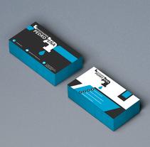 [Tarjeta de Visita] Fontanería. Un proyecto de Publicidad, Br, ing e Identidad y Diseño gráfico de Eloy Garrido Vañó         - 08.05.2016