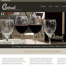 Web corporativa Restaurante El Central. Un proyecto de Fotografía, Dirección de arte, Marketing, Diseño Web y Desarrollo Web de Chelo Fernández Díaz - Sábado, 20 de diciembre de 2014 00:00:00 +0100