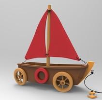 Animum School: Barco de juguete. Un proyecto de 3D de Erika Beatriz Fernández Martínez         - 10.05.2016