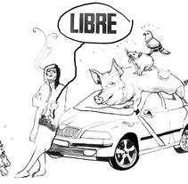 """Libro de Ajo: """"La perrina y yo"""", editado por Espasa. A Illustration, and Editorial Design project by Aleka Ilustración - 12-05-2016"""