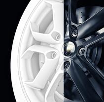 Lamborghini GPU. Um projeto de 3D, Design de automóveis e Pós-produção de Alberto Luque - 22-05-2016