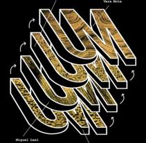 UM. A Graphic Design, and Screen-printing project by Clara Pessanha         - 03.12.2015