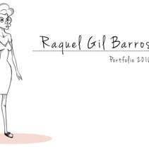 Personaje realizado a partir del texto: La Marquesa de Larkspur Lotion. Un proyecto de Animación y Diseño de personajes de Raquel Gil Barros         - 30.05.2016
