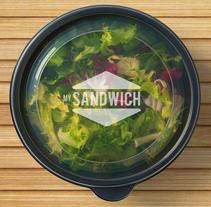 MySandwich. Um projeto de Br, ing e Identidade, Design gráfico e Packaging de Fluzo Project         - 05.06.2016