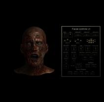 Rig Facial Maya 2016 + UI + mutation. Um projeto de 3D e Animação de javier sánchez díaz         - 06.06.2016