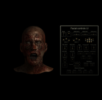 Rig Facial Maya 2016 + UI + mutation. A 3D, and Animation project by javier sánchez díaz         - 06.06.2016