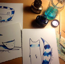 Estranys animals. Un proyecto de Ilustración y Bellas Artes de Silvia Sanmiquel         - 28.12.2013