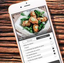 App de Recetas para iOS. Un proyecto de Diseño, UI / UX, Diseño gráfico y Diseño interactivo de Antonio Ropero - 12-06-2016