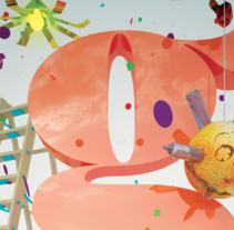 Gràcia // Participació al concurs de cartells Festa Major 2016. A Design, 3D, and Art Direction project by XELSON  - Jun 21 2016 12:00 AM