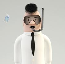 "Diseño de personajes en Cinema 4D ""RAMIRO"". Un proyecto de 3D de Yago Torres Seoane         - 27.06.2016"