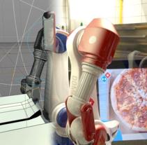 Domino's Pizza - CGI . Un proyecto de Animación y VFX de Milo Massacci         - 31.03.2016