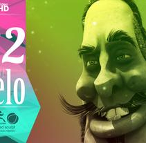 IceCreamer. Un proyecto de 3D y Escultura de Víctor Lobo         - 30.06.2016
