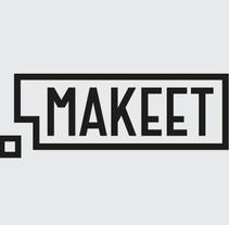 Makeet. Un proyecto de Diseño de complementos, Dirección de arte, Br, ing e Identidad, Diseño gráfico, Packaging y Diseño Web de Hendrik Hohenstein - 02-07-2013