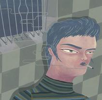 180 hilos. Um projeto de Ilustração e Artes plásticas de Yeyei Gómez  - 06-06-2016