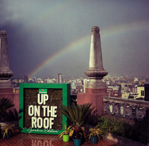 Heineken Up on The Roof - Garden edition. A Advertising, Music, Audio, Installations, Br, ing, Identit, Events, Marketing, Street Art, and Social Media project by Jef Lima - 14-02-2015