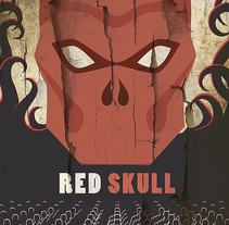 Red Skull. A Illustration project by Maria  Hill - 16-07-2016