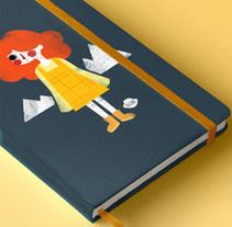Portadas de cuaderno ilustradas. A Illustration project by Alexia Viñambres Pleguezuelo - 18-07-2016