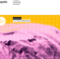 La capella website. A Graphic Design, Web Design, and Web Development project by Toni Hernández Díaz         - 20.07.2016