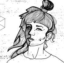 Just Grimes. A Illustration, Character Design, Fashion, Fine Art, and Graphic Design project by Solveiga         - 01.08.2016