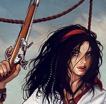 A Pirate's Life For Me. Un proyecto de Ilustración de Ana del Valle Seoane         - 29.10.2012
