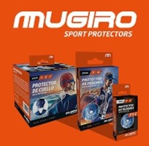 Mugiro Sport Protectors. A Art Direction, Br, ing, Identit, Creative Consulting, Graphic Design, Product Design, Web Design, and Web Development project by Red Vinilo  - 22-08-2016