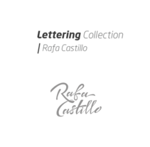 Lettering  Collection. A Graphic Design, and Calligraph project by Rafa  Castillo - 25-08-2016