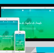 Tour del Empleo - Plantilla de Wordpress. Un proyecto de Diseño, UI / UX, Diseño gráfico y Diseño Web de Nuria Muñoz - 29-08-2016