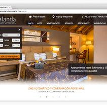 Alanda Club Marbella. A Graphic Design, and Web Design project by Albert Zapater         - 31.08.2013