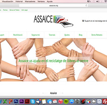 Diseño y desarrollo WEB - Assaice. A Web Design, and Web Development project by Paco Maringo         - 30.04.2015