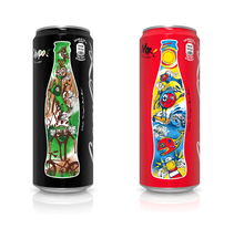 Coca-Cola Sleek Cans Illustration. A Illustration, Br, ing, Identit, and Packaging project by Alexandre Azevedo         - 06.09.2016