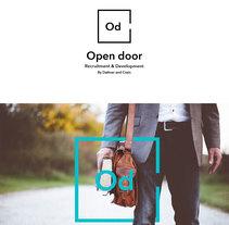 Logo Open Door. A Design project by Selu Sánchez         - 27.07.2017