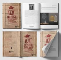 UJI Design Trademark. Un proyecto de Diseño, Br, ing e Identidad y Diseño editorial de Joan Rojeski         - 07.05.2015