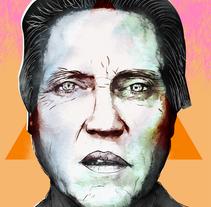 Mi Proyecto del curso: Retrato ilustrado con Photoshop. A Design&Illustration project by Andre Filipe Sousa - Sep 08 2016 12:00 AM