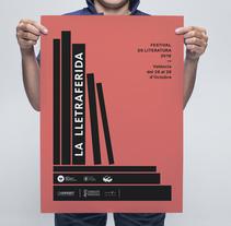 La Lletraferida. Um projeto de Design gráfico de Chavo Roldán         - 25.10.2016