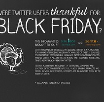 Black Friday on Twitter | Social Opinion | Infographic. A Graphic Design&Infographics project by Miquel Alvarez         - 31.10.2014