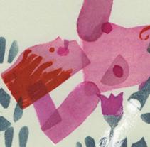 Portada e ilustración Cuentos para el Andén. Un proyecto de Ilustración de Isabel  Vila Caballero - 14-02-2015