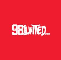 Festival 981UNITED. Um projeto de Design, Eventos, Design gráfico e Marketing de Humberto  - 18-01-2016