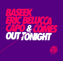 VIDEO MUSIC: Baseek, Eric Belucca, Capo & Comes - Out Tonight (Vocal Mix) . Un proyecto de Música, Audio, Cine, vídeo, televisión, Post-producción, Vídeo y Sound Design de Pau Moya         - 18.09.2016