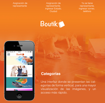 Boutik Catálogo Digital. A Software Development, UI / UX, and Graphic Design project by Mangel Squin         - 07.07.2015