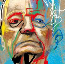 El País De Catalunya_ Sant Jordi. Un proyecto de Ilustración, Publicidad, Diseño editorial, Bellas Artes y Collage de Víctor Escandell - 24-09-2016