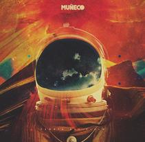 """LP """"Teoría del cielo"""" de la banda barcelonesa Muñeco. Un proyecto de Collage, Dirección de arte y Diseño gráfico de Fran Rodríguez - Martes, 27 de septiembre de 2016 00:00:00 +0200"""