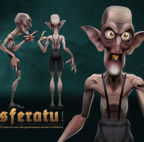 Mi Proyecto del curso: Modelado de personajes en 3D. Um projeto de 3D de Alberto Corraliza Úbeda - 29-09-2016