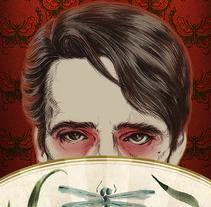 Mi Proyecto del curso: Póster de M Butterfly de David Cronenberg. A Design, Illustration, and Film project by Ana Albares Jiménez - 28-09-2016