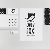 COFFY FOX -Sweety cloths-. A Illustration, Br, ing&Identit project by Nerea Martínez Sánchez - 29-09-2016