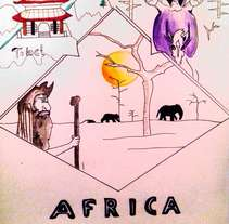 Cómic África. Un proyecto de Diseño y Bellas Artes de Moisés Leandro  Pinzón Mateus - 04-10-2016